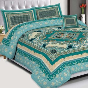 3PCS BED SHEET - D-225