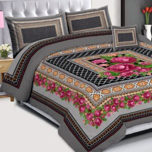 3PCS BED SHEET - D-226