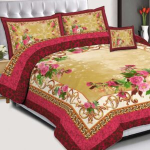 3PCS BED SHEET - D-230