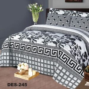 3PCS BED SHEET - DES-245
