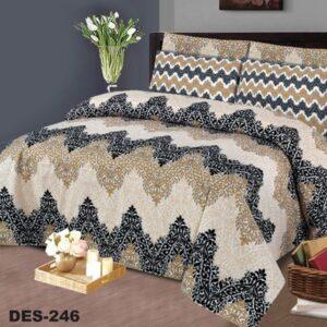 3PCS BED SHEET - DES-246