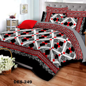 3PCS BED SHEET - DES-249