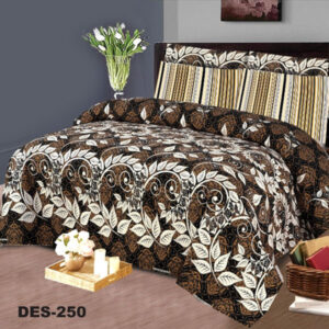 3PCS BED SHEET - DES-250