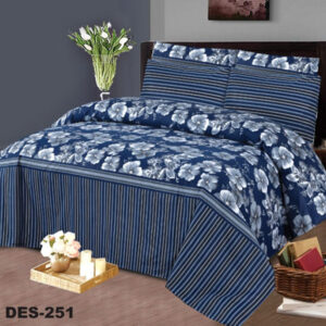 3PCS BED SHEET - DES-251