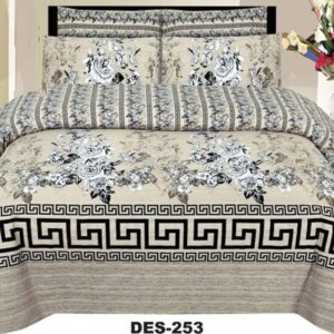 3PCS BED SHEET - DES-253