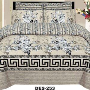 3PCS BED SHEET - DES-253