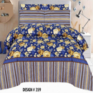 3PCS BED SHEET - DES-359
