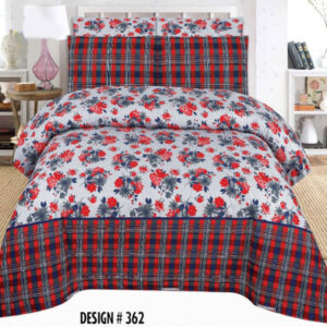 3PCS BED SHEET - DES-362
