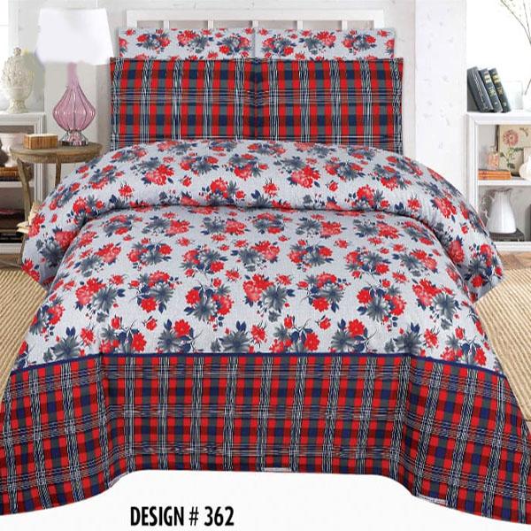 3PCS BED SHEET - DES-362