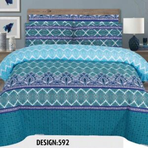 3PCS BED SHEET - DES-592