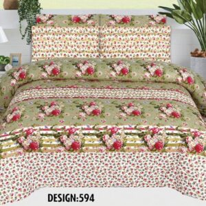 3PCS BED SHEET - DES-594