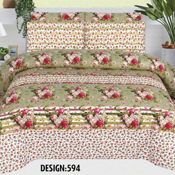 3PCS BED SHEET - DES-594