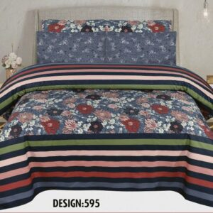 3PCS BED SHEET - DES-595