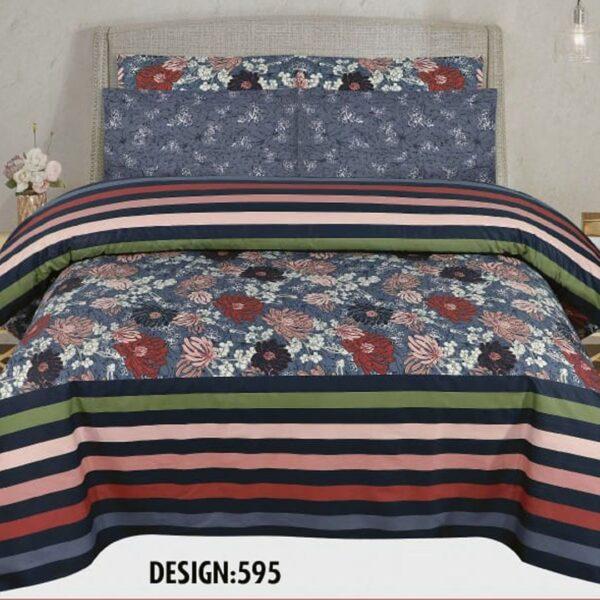 3PCS BED SHEET - DES-595