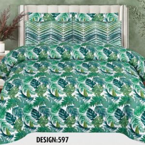 2PCS BED SHEET - DES-015