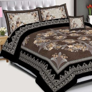 3PCS BED SHEET PAKISTAN - D-224