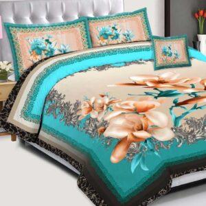 3PCS BED SHEET PAKISTAN - D-229