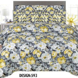 3PCS BED SHEET PRICE - DES-593