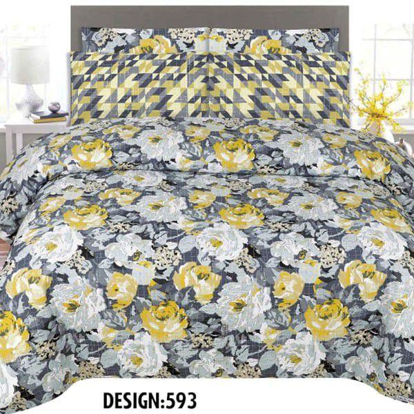 3PCS BED SHEET PRICE - DES-593