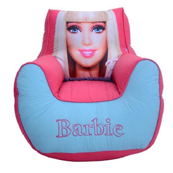 BARBIE BEAN BAG KIDS SOFA