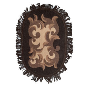 Door mat foot mat frill