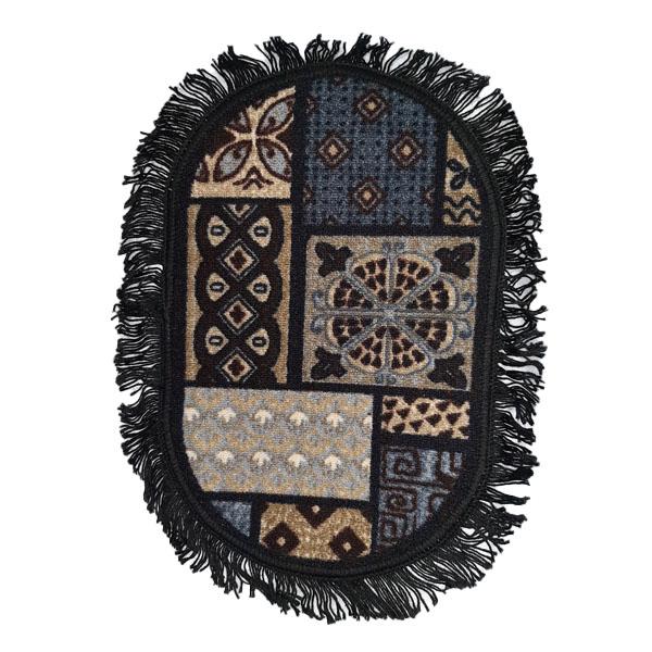 Door mat foot mat frill mat