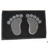 Grass foot mat