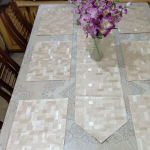 Table Runner leather fabric price pakistan