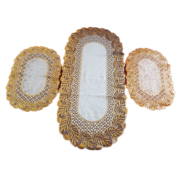 Dressing Table and Side Table Mats 3 pcs DM-03