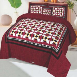 3PC BED SHEET-DES-101