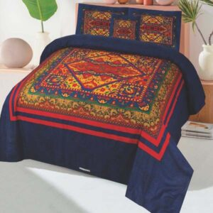 3PC BED SHEET-DES-102