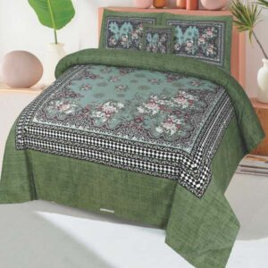 3PC BED SHEET-DES-103
