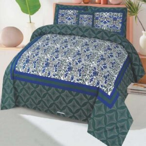 3PC BED SHEET-DES-104