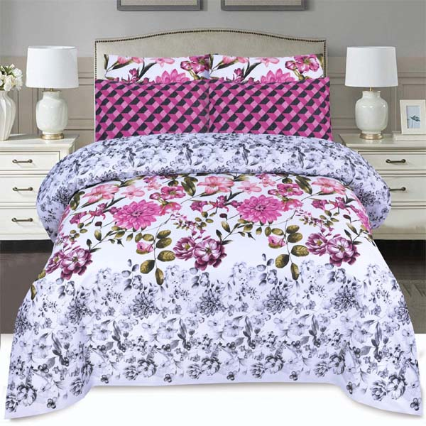 3PC BED SHEET-DES-106