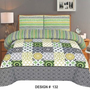 2PC Single BED SHEET-DES-017