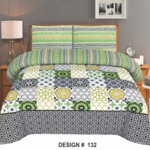 3PC BED SHEET-DES-132