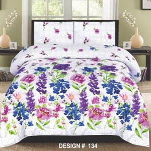 2PC Single BED SHEET-DES-018
