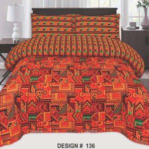 COMFORTER SET BED SHEET-CBS-136
