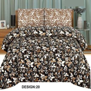 3PC BED SHEET-DES-20