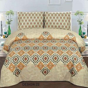 2PC Single BED SHEET-DES-005