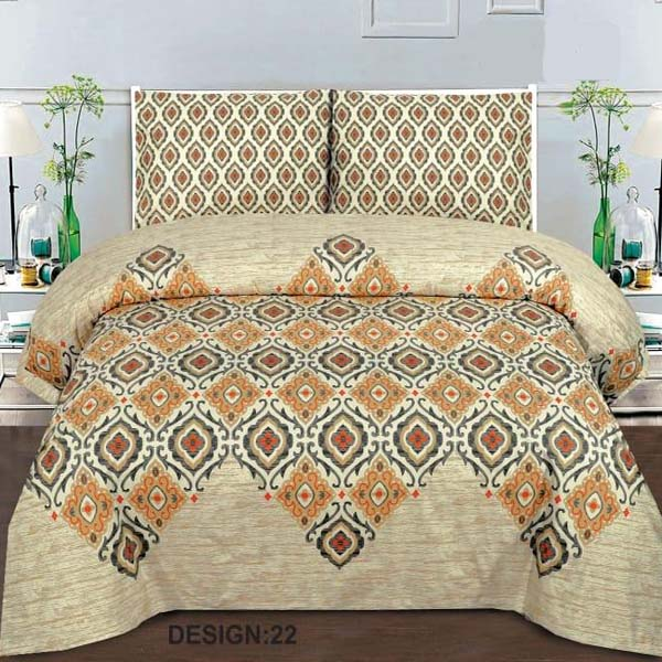 2PC Single BED SHEET-DES-005
