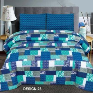 3PC BED SHEET-DES-23