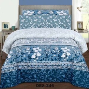 3PC BED SHEET-DES-246