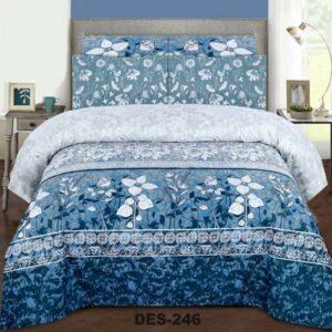 3PC BED SHEET-DES-246