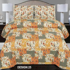 2PC Single BED SHEET-DES-008