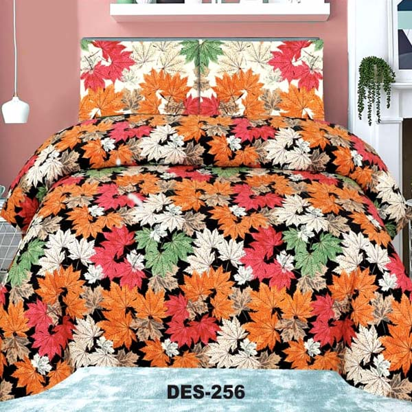 2PC Single BED SHEET-DES-022