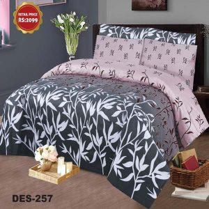 2PC Single BED SHEET-DES-023