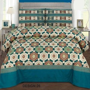 2PC Single BED SHEET-DES-009