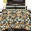 2PC Single BED SHEET-DES-010