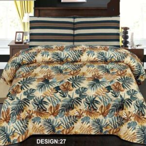 3PC BED SHEET-DES-27